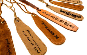 fab-engraved-leather-bookmark-set