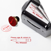 Inking stamps